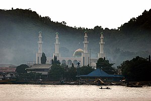 Jolo, Sulu - Tulay Central Mosque, the largest mosque in Sulu