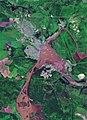 Tulun town (Irkutsk province, Russia), Sentinel-2 satellite image, 2019-06-29.jpg