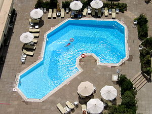 Hotel Pool in Tunis