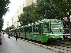 Convoi du métro léger