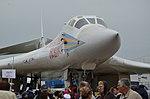 Tupolev Tu-160 at Ramenskoye Airport 2013 (9635993215).jpg