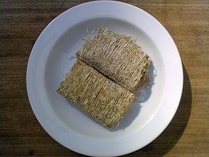 Shredded wheat - Full-sized shredded wheat