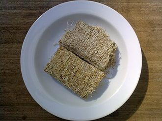 Shredded wheat - Full-sized shredded wheat