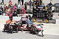 Ty Dillon pitstop at Rockingham 2012.jpg