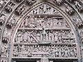 Tympanum of western facade of Notre-Dame de Strasbourg (central).jpg
