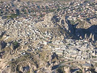Uçhisar municipality in Nevşehir, Turkey