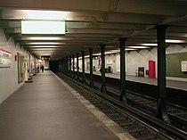 U-Bahn Berlin Kaiserdamm Platform.jpg