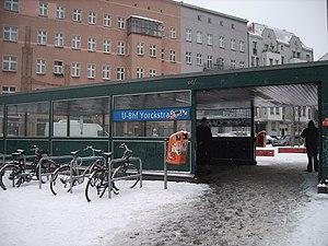 Berlin Yorckstraße station - Image: U Bahn Berlin Yorckstrasse