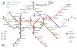 bécs metró térkép Bécsi metró – Wikipédia bécs metró térkép