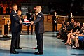 U.S. Airmen with flag detail participate in the retirement ceremony of Maj. Gen. Timothy A. Byers, the Civil Engineer, Headquarters U.S. Air Force, at Conmy Hall on Joint Base Myer-Henderson Hall in Arlington 130621-A-WP504-135.jpg