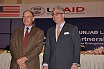 U.S. Consul General Zachary Harkenrider and Director USAID Punjab Dr. Miles Toder (22475133522).jpg