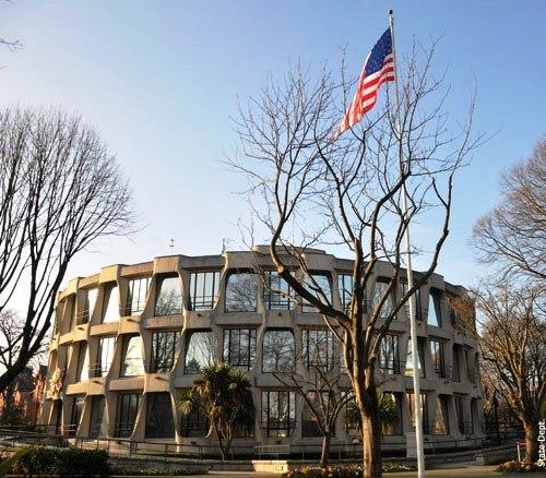 U.S. Embassy Chancery Building in Ballsbridge, Dublin 4