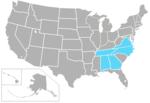 USASouth-USA-states
