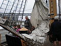 USCGC Eagle main deck during Festival of Sail 2008 SF 6.JPG