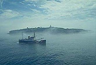Lighthouse tender - Image: USCGC Fir off Cape Flattery