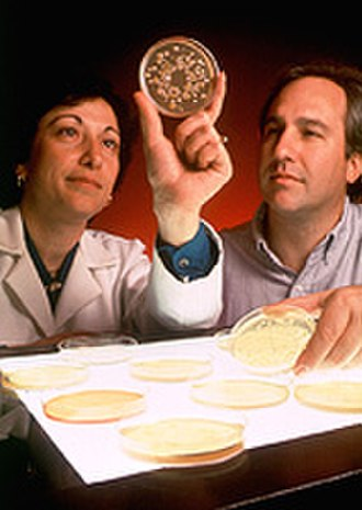 Microbiologist - Image: USDA ARS ERRC