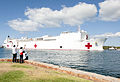 USNS Mercy arrives in Historic Pearl Harbor 150525-N-WC566-013.jpg