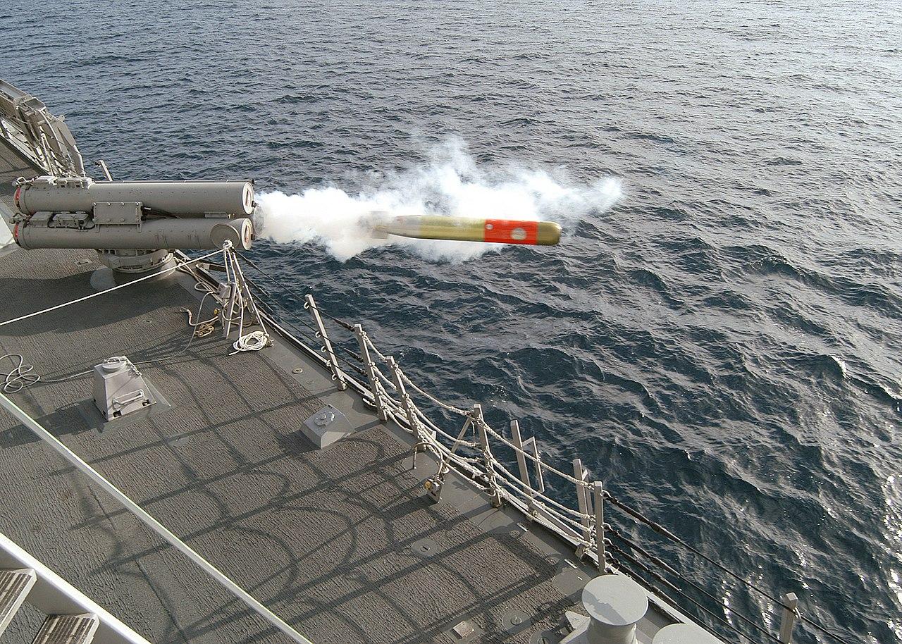 File:USN MK-46 Mod 5 lightweight torpedo.jpg - Wikipedia