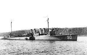 USS McKean (DD-90)