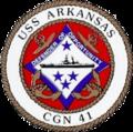 USS Arkansas (CGN-41) crest c1980.png