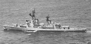 USS Carpenter in 1965