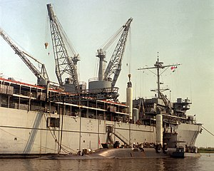 USS Simon Lake - Image: USS Francis Scott Key (SSBN 657)