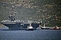 USS Harry S. Truman departs Souda Bay, Greece, after a port call June 25, 2016. (27883336151).jpg
