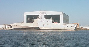 USS Independence (LCS-2) - Side view of USS Independence