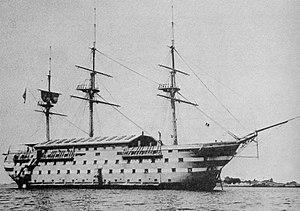 USS New Hampshire (1864) - Image: USS New Hamp SOL 750px