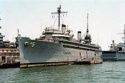 USS Vulcan AR-5 Norfolk 1992
