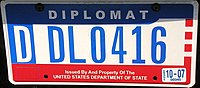 Vehicle registration plates of the United States - Wikipedia