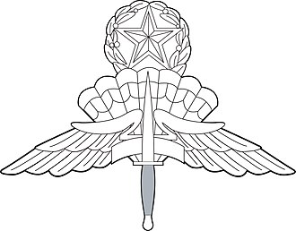 Wayne A. Downing - Image: US Military Master Free Fall Parachutist Badge