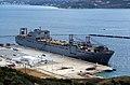 US Navy 040106-N-0780F-008 The Large, Medium-Speed Roll-on-Roll-off Ship USNS Benavidez (T-AKR 306) sits pierside in Souda harbor during a brief port visit.jpg