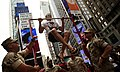 US Navy 100528-N-5878L-023 Marines challenge passersby to pull-ups in Times Square during Fleet Week New York 2010.jpg