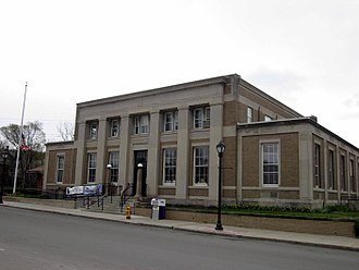 Wellsville, New York - US Post Office Wellsville, NY