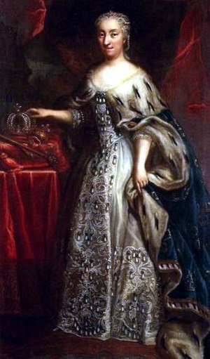 1729 in Sweden - Ulrika Eleonora, Queen of Sweden.