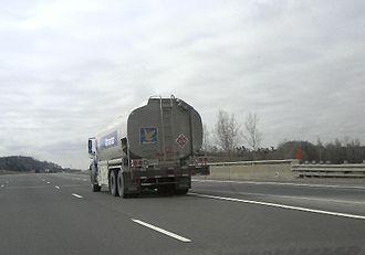 Ultramar - Ultramar fuel truck in the Toronto area.
