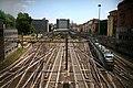 Un convoglio Malpensa Express lascia la stazione di Cadorna.jpg