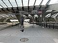 Une des entrées de la gare de Lyon Saint-Exupéry (juin 2019).jpg