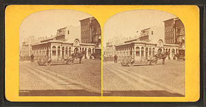 Timeline of Providence, Rhode Island - Union Railroad depot, Providence, 19th century