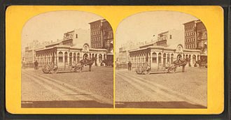 Timeline of Providence, Rhode Island - Union Railroad depot, Providence, 19th century