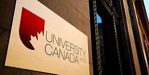 University Canada West - Image: University Canada West (UCW) Vancouver