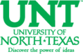 University of North Texas wordmark with lettermark.png