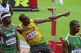 Athletics at the 2012 Summer Olympics – Mens 200 metres Olympic athletics event