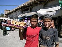 Uzbek children