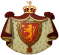 Våpenskjoldet på kroningsvognen.png