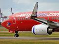 VH-BZG 'Bretts Jet' Boeing 737-8FE Virgin Blue (Virgin Australia) (6601227699).jpg