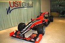 Virgin Racing Sweatshirt Envision Formula F1 Racing Team Formula One Black M658