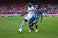 Valais Cup 2013 - OM-FC Porto 13-07-2013 - Souleymane Diawara et Alex Sandro 1.jpg