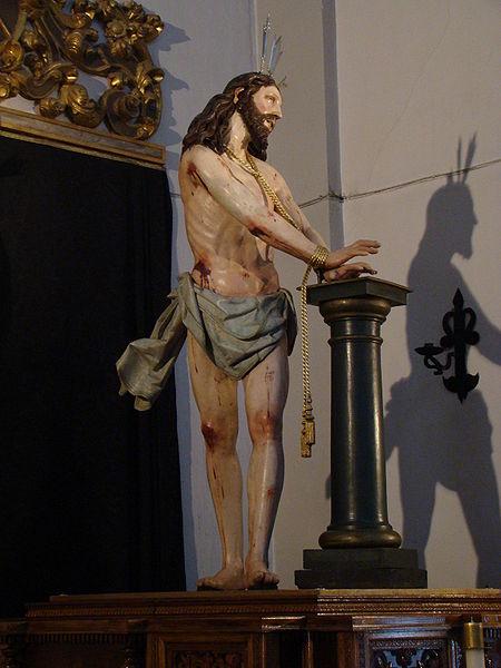 File:Valladolid iglesia San Quirce Cristo Flagelado ni.jpg